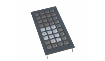 Compact mobile industrial keyboards