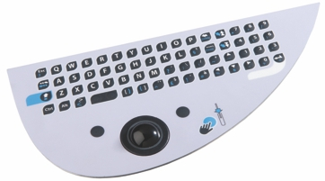 special shape industrial keyboard
