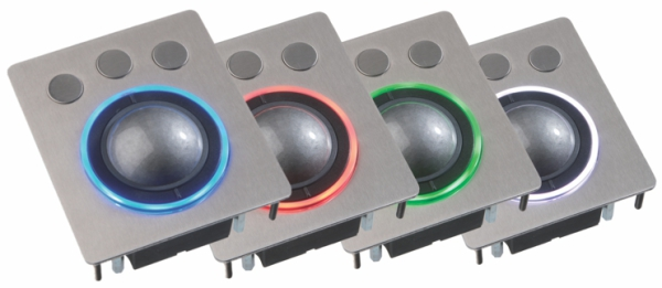 LED industrie Trackballs