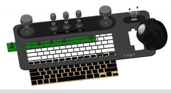 customized industrial keyboards